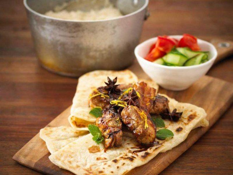 BBQ Chai Glazed Pork Spare Ribs