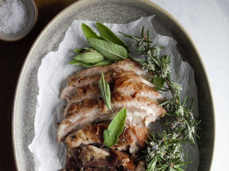 Slow Cooked Pork Jowl
