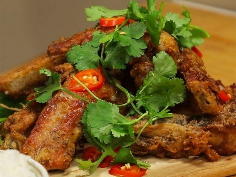 Sarah Tiong's Salt & Pepper Pork Spare Ribs