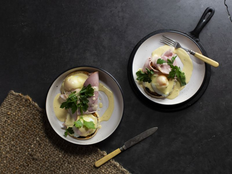 Eggs Benedict with Scottsdale Pork Ham